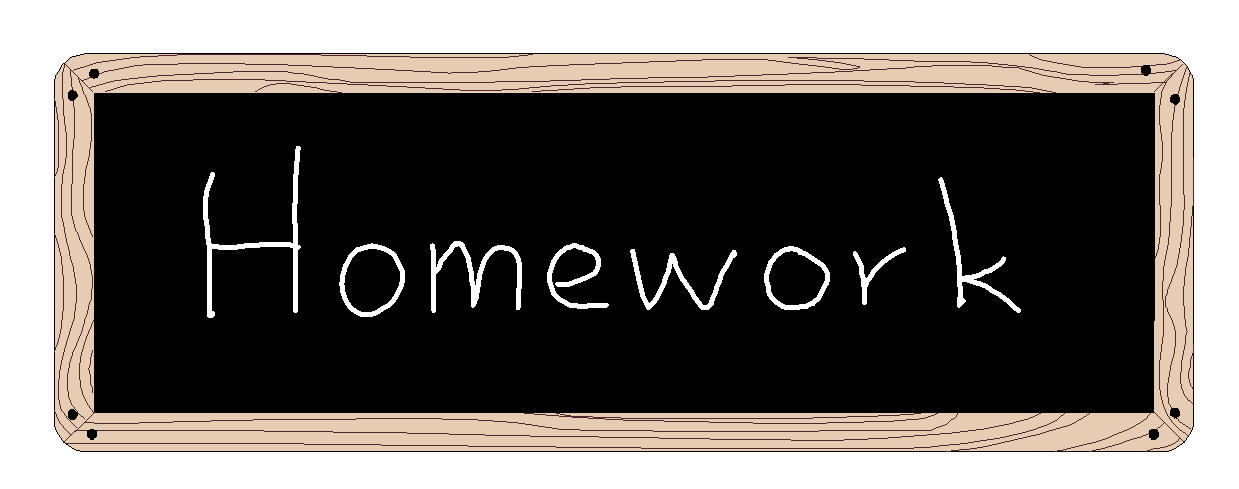 Is homeworks a word