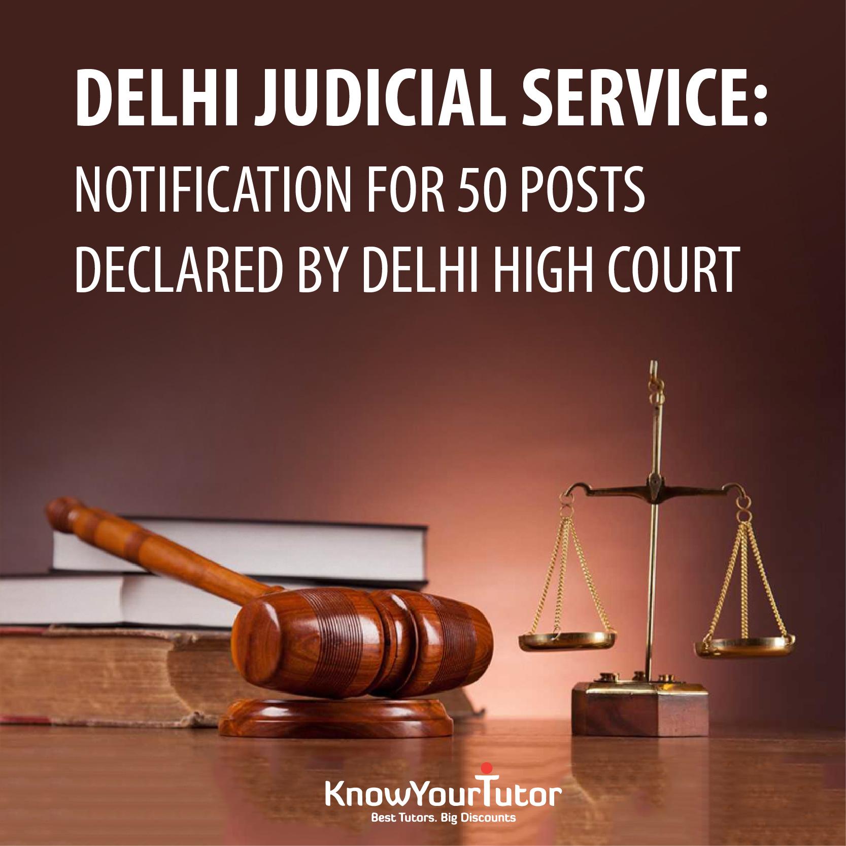 DELHI JUDICIAL SERVICE