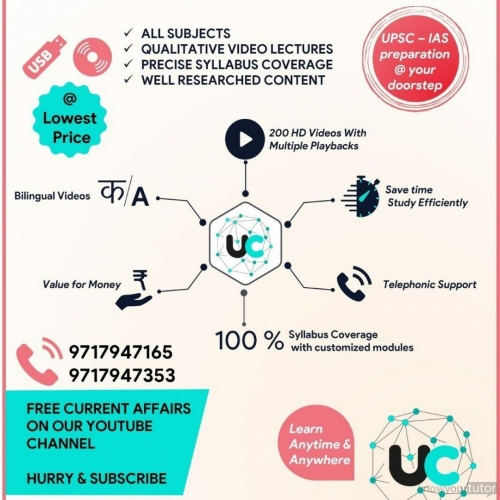UPSC offering IAS,IFS,IPS,IRS,PCS,Civil Services coaching in